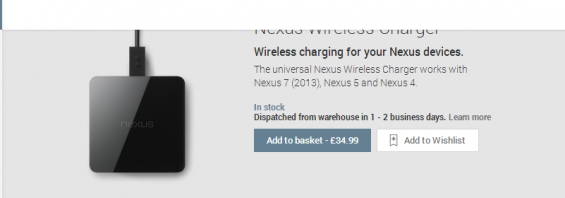 Nexus Wireless Charger   Devices on Google Play