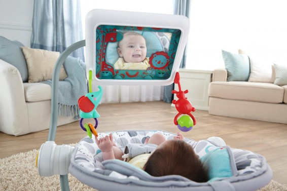 Fisher Price go insane. Strange iPad baby contraption now available