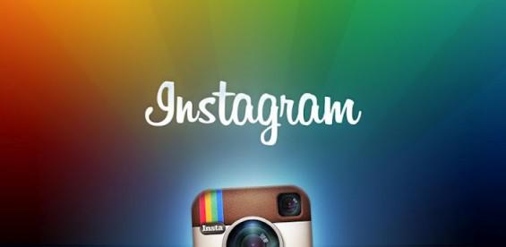 instagram app header