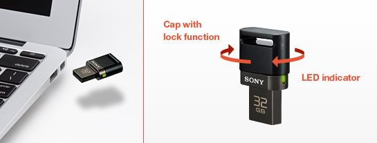Sony announce a teeny tiny USB drive for your smartphone