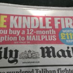 Get an over-expensive Kindle with the Daily Mail