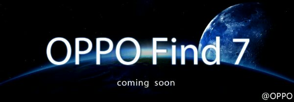 Oppo tease their next device the Find 7