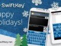 Update to Swiftkey Keyboard brings winter cheer.