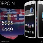 Oppo N1 goes on Sale €499
