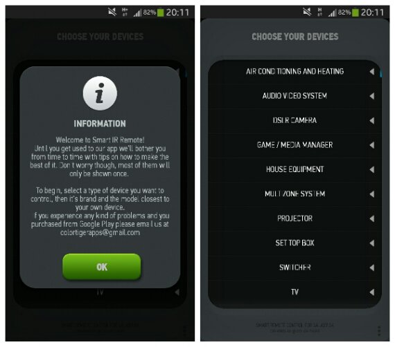 Android App Review   Smart IR Remote