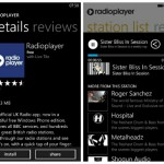 Radioplayer for Windows Phone offers a wide range of radio stations