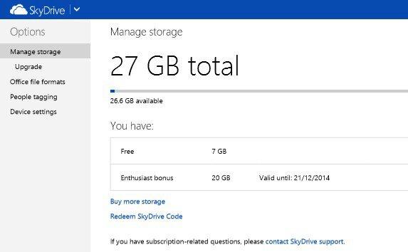 SkyDrive rewarding Windows Phone enthusiasts