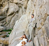 This is what happens when your wedding photographer only brings a cameraphone