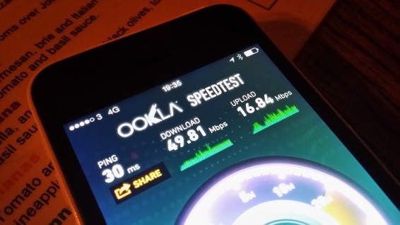 Hands on with Three 4G