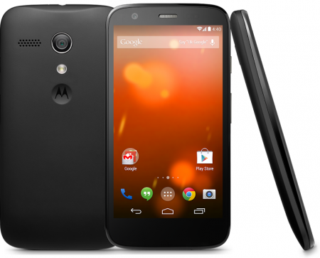 Moto G now available on Vodafone for £100