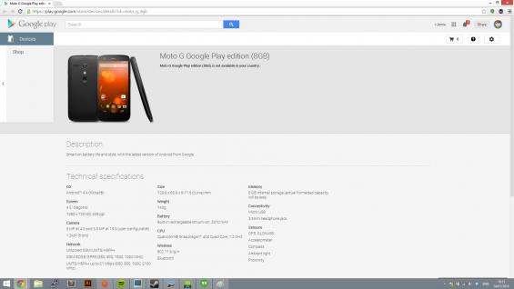 Motorola G GPe