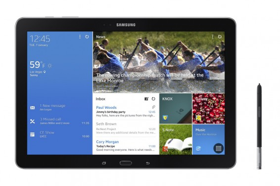 Samsung Galaxy Note Pro 12.2 up for pre order