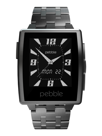 New Metal Pebble watch announced at CES