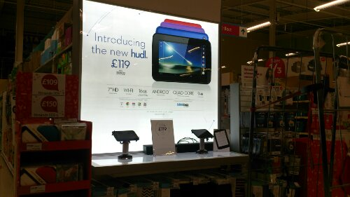 Tesco Hudl   Doing rather well actually