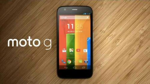 Moto G coming to Vodafone soon