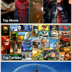 Watch cartoons and movies for free