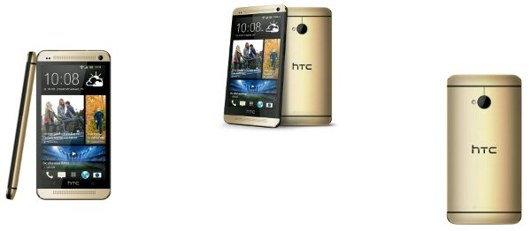 HTC One in gold is now available SIM free in the UK