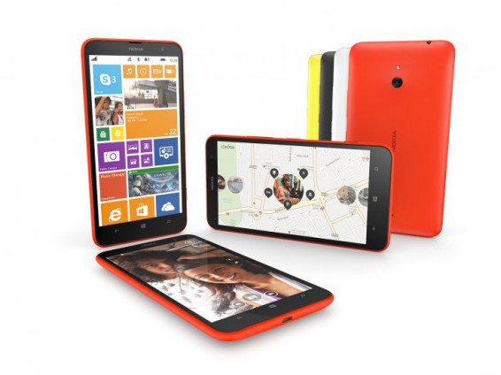Nokia Lumia 1320 arrives in the UK