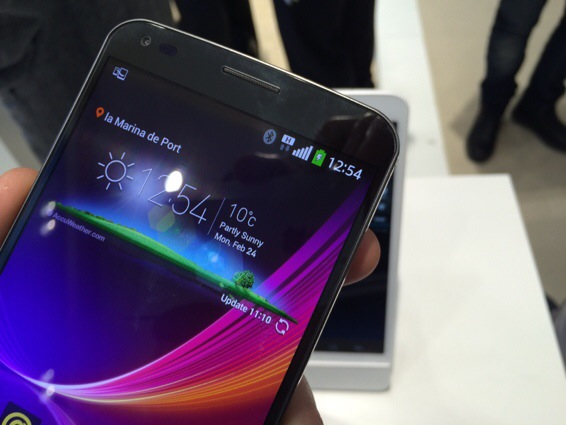 LG G Flex   Hands on