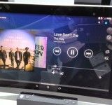 Sony Xperia Tablet 2 Up close