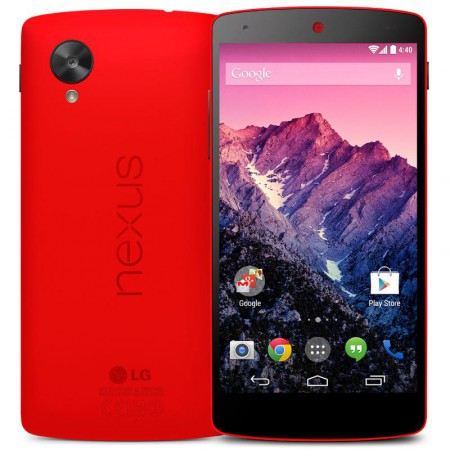 LG ELECTRONICS RED NEXUS 5