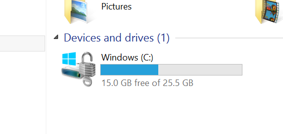 Lumia 1520 Storage Crop