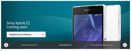 Sony Xperia Z2 and the Samsung Galaxy S5 are headed to Vodafone in the near future