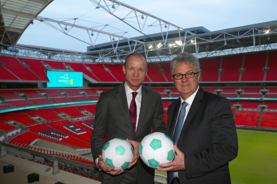 EE Sponsorship deal at Wembley