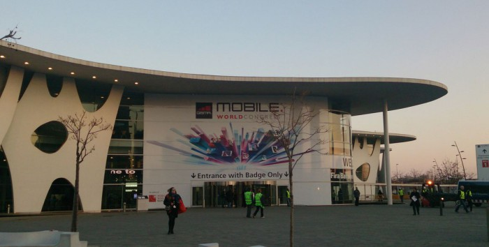 MWC   Apparently its ok to have an HTC Re on the end of a selfie stick