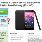 Nexus 5, get it cheaper if you're quick