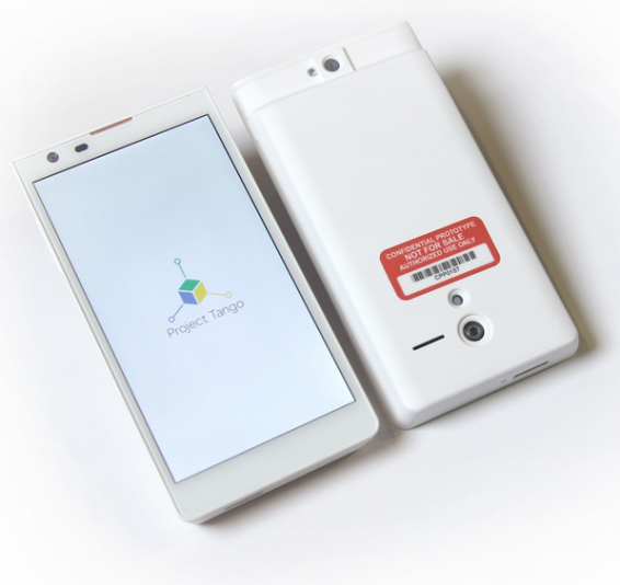 Youve Been Tangoed, now in 3D   Google unveils Project Tango prototype