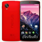 Red Nexus 5 on show, launch tomorrow