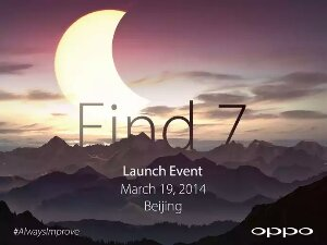 Oppo Find 7 to launch on 19th March