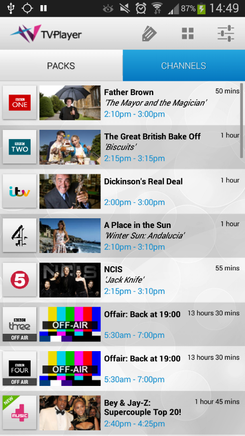 More ways to watch TV on your device