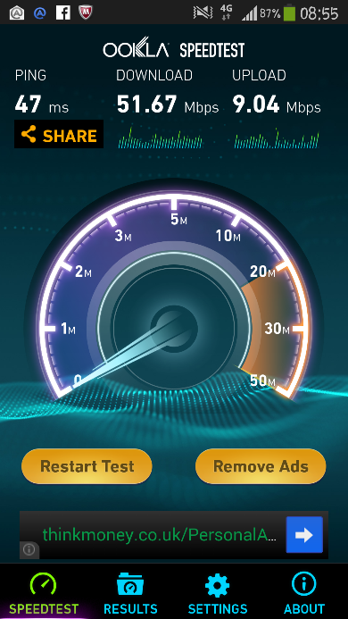 Three 4G arrives up Anley duck