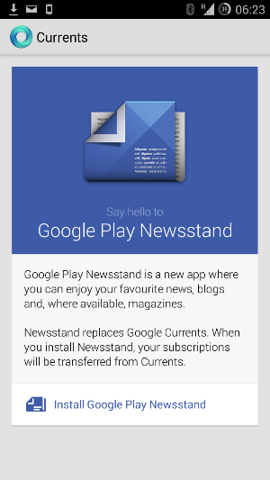 The end is nigh for Google Currents