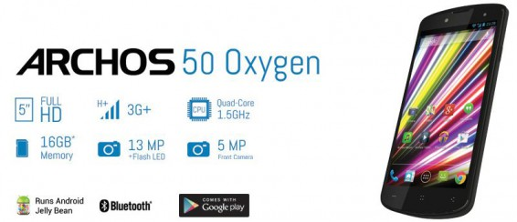 Archos 50 Oxygen Android phone   Initial impressions review