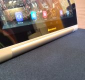 Up close   The Lenovo Yoga Tablet 10 HD+