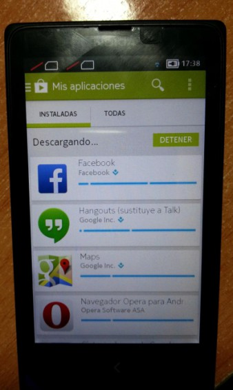 Nokia X Rooted   Google Apps installed