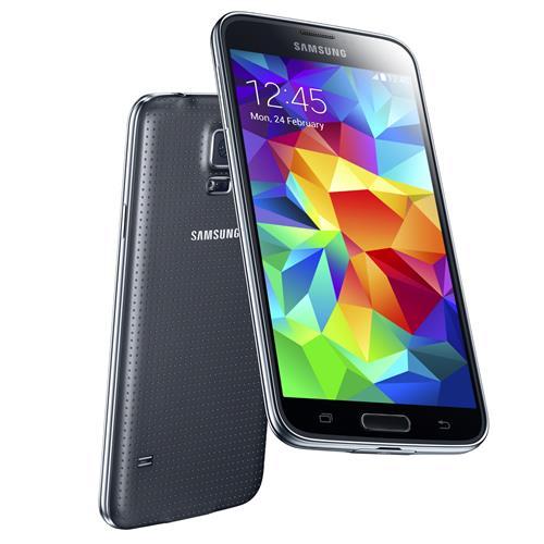 Samsung Galaxy S5 charcoal BLACK 01