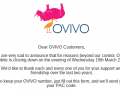 Trying to get your PAC from Ovivo? Not heard anything?