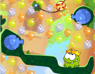 Cut the Rope 2 eventually turns up on Android too