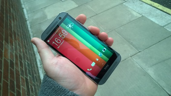HTC One (M8) hands on