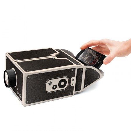 A smartphone projector on the cheap