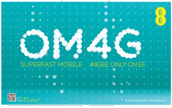 EE announce new 4G plans
