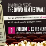 Free cinema ticket with Ovivo – Only one week left