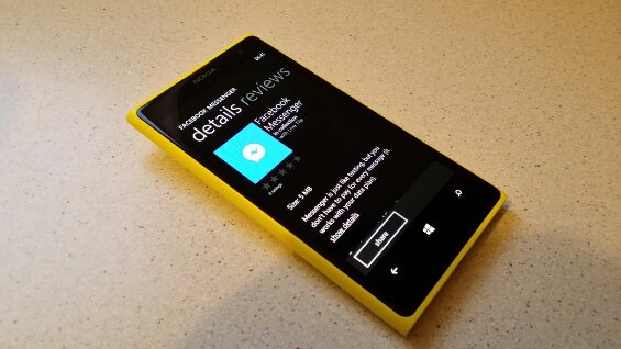 Facebook Messenger for Windows Phone 8 is now available