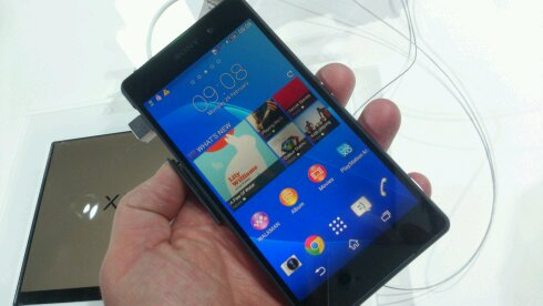 Want a Sony Xperia Z2? Pre order on Vodafone for a free TV