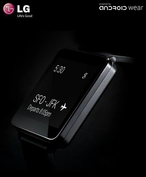 LG announce the G Watch