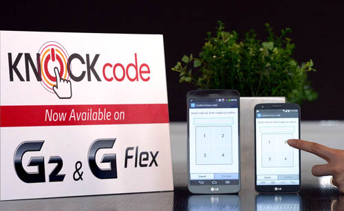LG Knock Code coming to a G2 near you soon